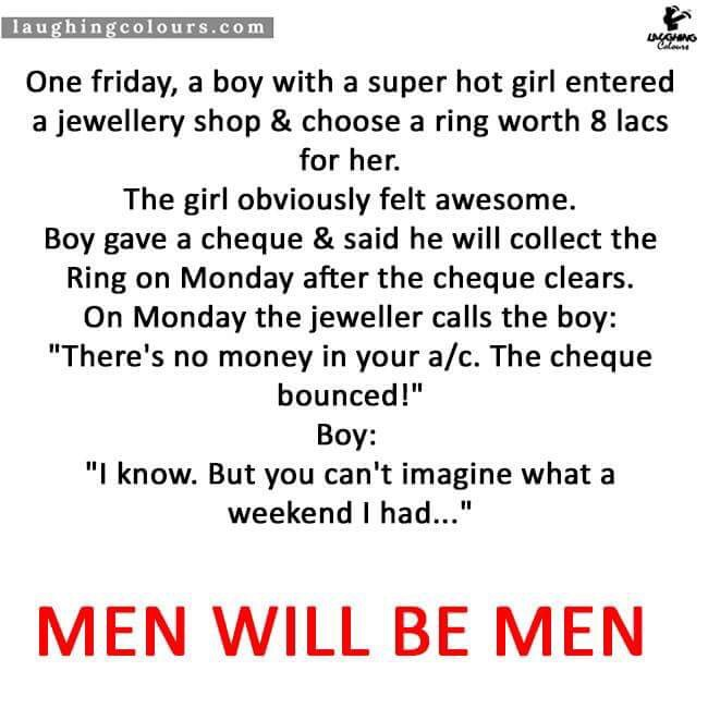 Boy buys a Ring for his Girlfriend - Whatsapp Forwards ...