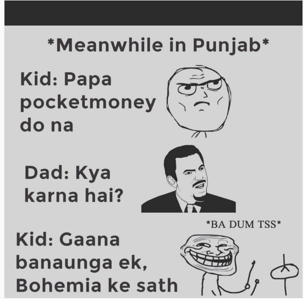 how rappers are born in punjab