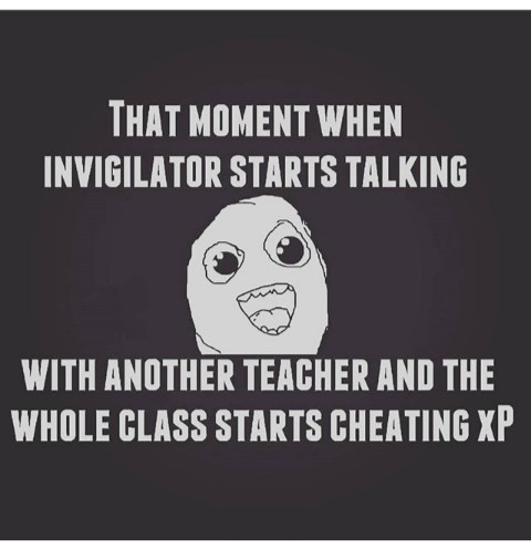 cheating in exams