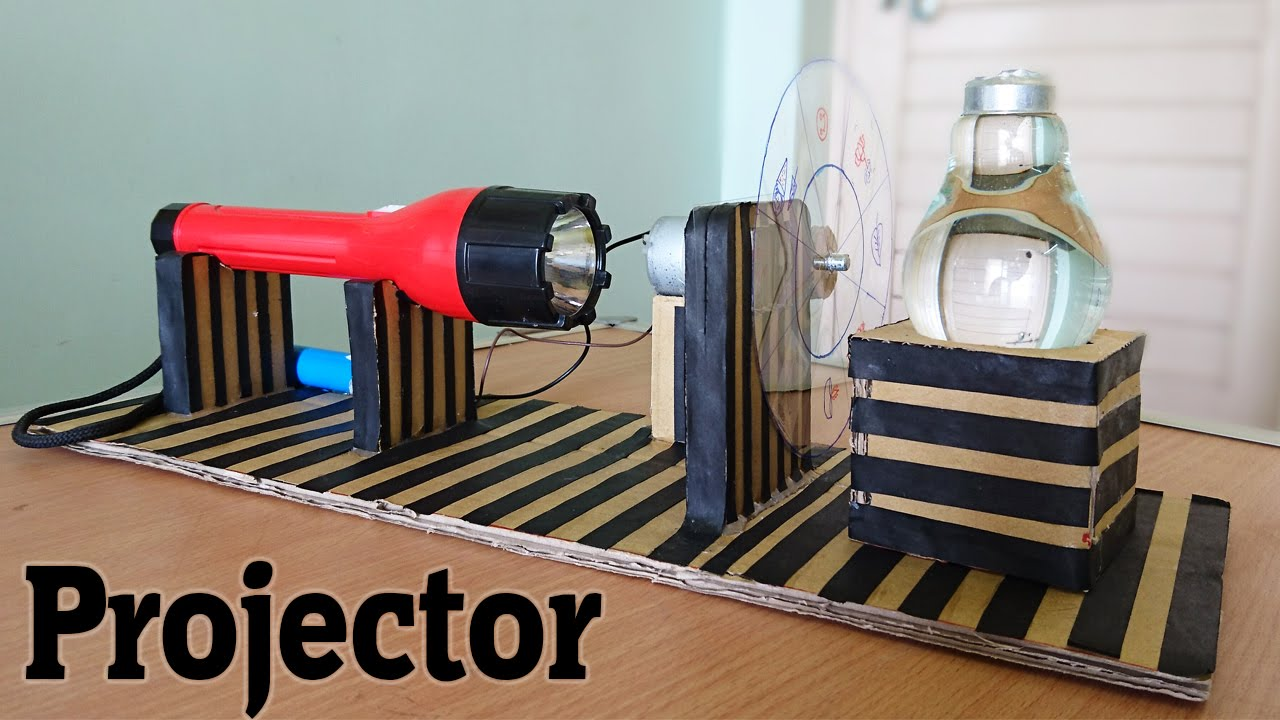 How to make a projector using bulb at home whatsapp for Best out of waste models