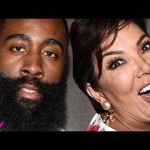 James Harden Dunks On A Child - Kris Jenner Is Selling Paperclips